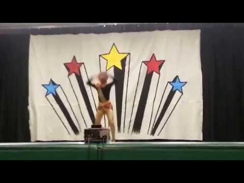 Sradha performing Dance at Crystal springs school Talent show