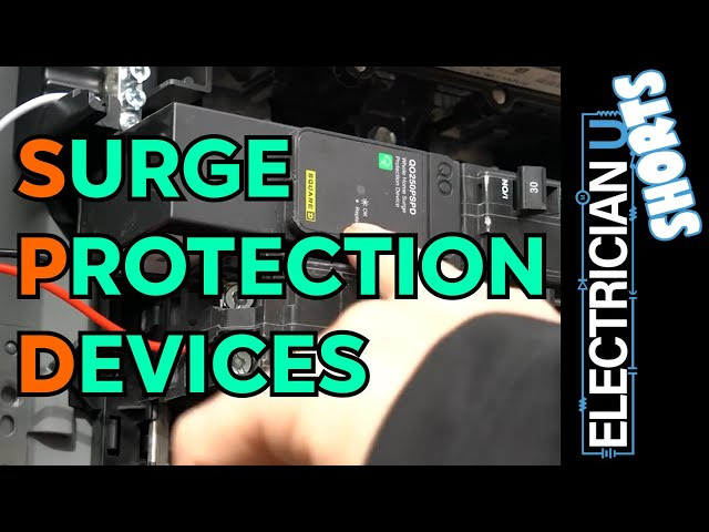 SHORTS - SPD's - What a Surge Protection Device IS and ISN'T - Explained in 3 Minutes