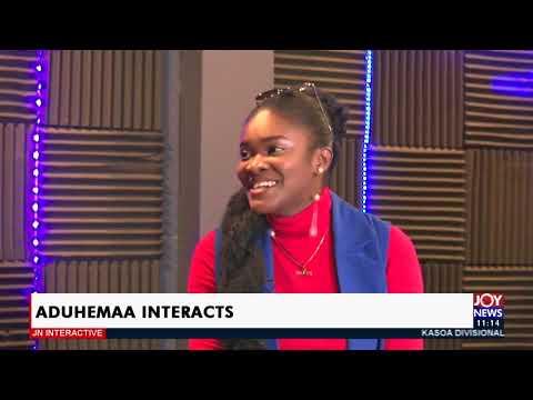 Gospel Musician Aduhemaa Interacts - JoyNews Interactive (5-4-21)