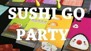 Sushi Go Party - társasjáték bemutató