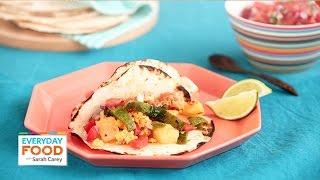 Breakfast Chorizo And Egg Tacos - Everyday Food With Sarah Carey