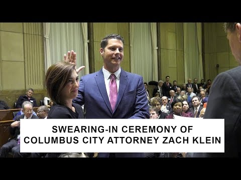Swearing In Ceremony for City Attorney Zach Klein