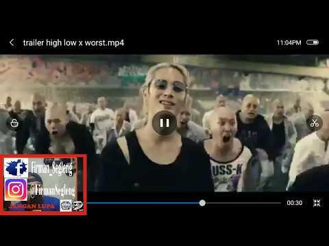 DUEL HOUSEN VS OYA KOHKOH....!!! REACTION TRAILER HIGH AND LOW THE WORST