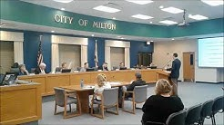 Milton council votes on firing city manager