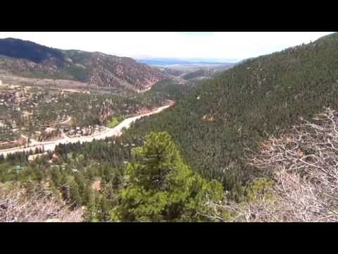 Beautiful USA - Driving up Pikes Peak Mountain, Colorado