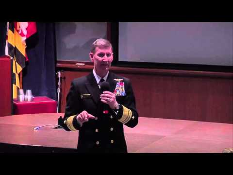 VADM Ted Carter Speaks at the Johns Hopkins Applied Physics Laboratory