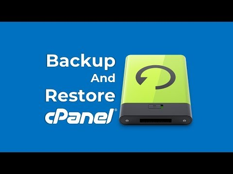 How to create backup or restore any website from one cPanel to another cPanel?