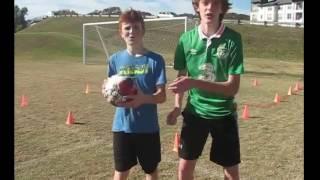 Intense Football Tennis Match W/ IF