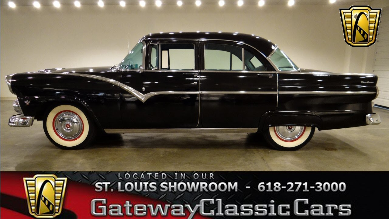1955 ford fairlane sedan 6238 gateway classic cars st louis youtube