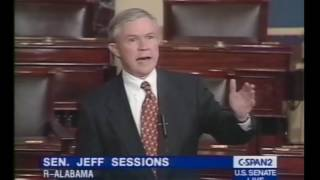 Jeff Sessions praises independent prosecutors in 2000 Free HD Video