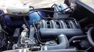 Jeep CJ7 avec moteur XUD11 Peugeot