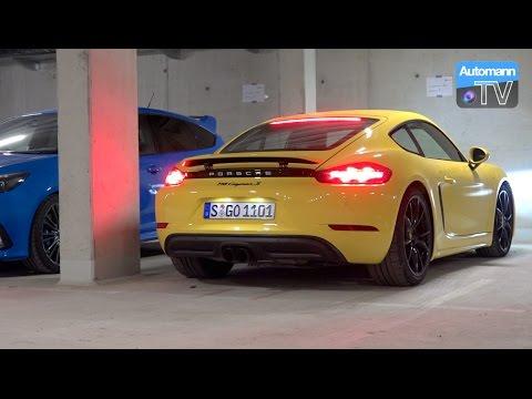 Porsche 718 Cayman S (350hp) - pure SOUND (60FPS)