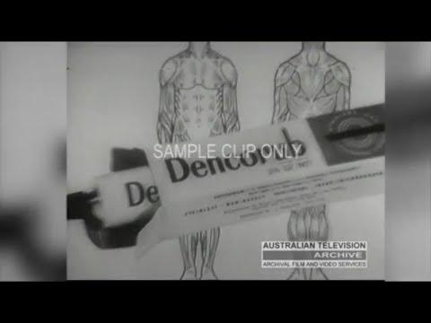 DENCORUB (1960's Classic TV Commercial) - Australia