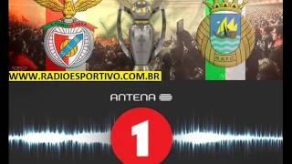 Benfica 4 x 0 Rio Ave - Relato de Nuno Matos ( Antena 1 ) Camp. Português - 07/04/2014