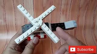 Cara membuat helikopter dari lego || How to build helicopter from lego