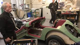Morgan motor co Factory tour nov 2018