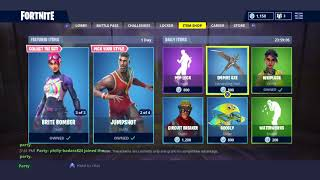 Fortnite daily item shop Rainbow Smash Returns Aslo Basketball Skins Are Back!