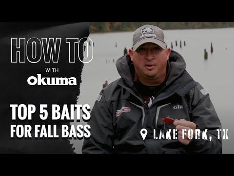 Top 5 Baits For Fall Bass On Lake Fork Texas