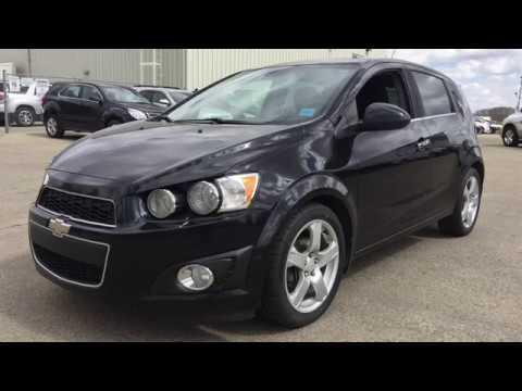 2012 Chevrolet Sonic Manual Ltz Hatchback Fwd Black 18n141a