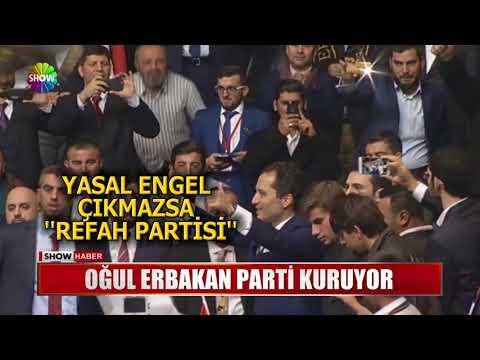 Oğul Erbakan parti kuruyor