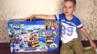 Robocar Poli игрушка с умными машинками Эмбер и Рой Игрушечные машинки для детей ????? ?? ??? ??