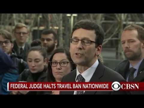 Breaking News  Seattle Federal Judge Stops Trump's Travel Ban!