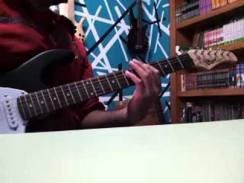 Saratoga intro perversidad guitar