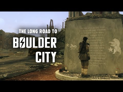 The Story of Fallout New Vegas Part 1: They Went That-a-Way - The Long Road to Boulder City