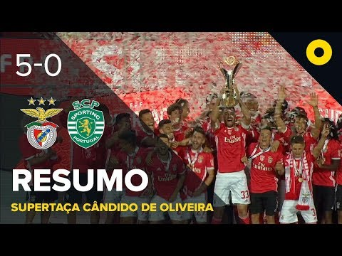 Benfica 5-0 Sporting - Resumo | SPORT TV