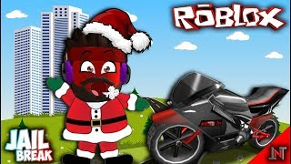 ROBLOX indonesia #59 Jail Break | Santa Claus Nyicil Motor