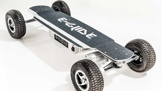 E Glide GT Off Road Electric Skateboard Unboxing and Demo   Awesome Machine
