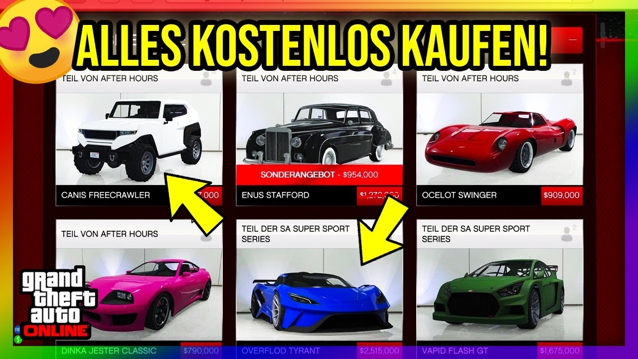 alles kostenlos kaufen glitch in gta online der beste. Black Bedroom Furniture Sets. Home Design Ideas