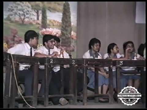 St. Lawrence High School, Kolkata - Opus 5, 1994 - Parnab Mukherjee Quiz (Any Topic)