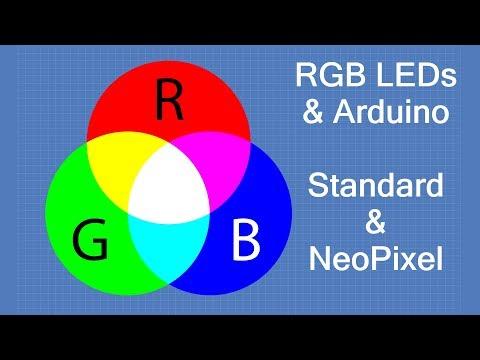 RGB LEDS – Colorful Arduino Experiments | DroneBot Workshop