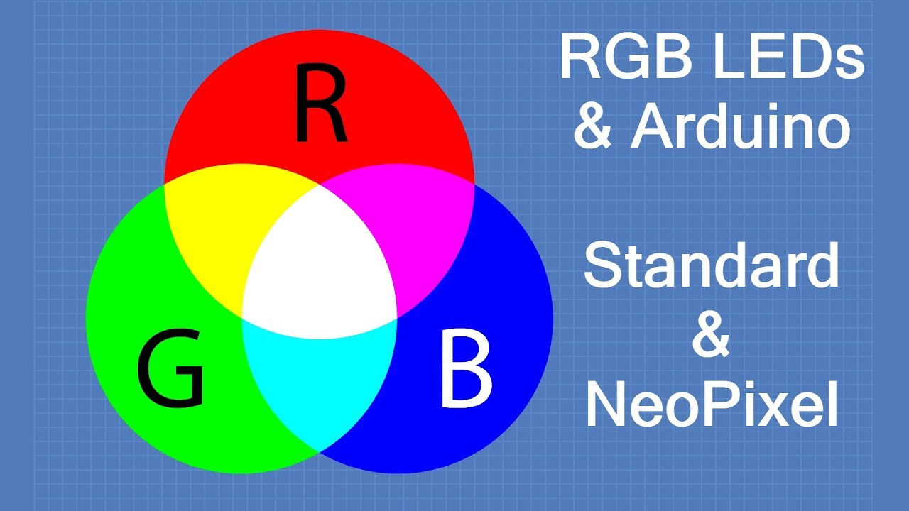 Rgb Leds With Arduino Standard Neopixel Youtube This Code Is For A Simple Led Controller 1