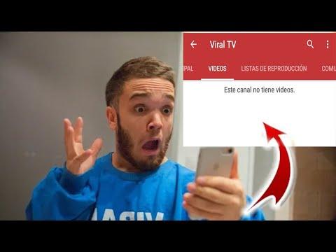 por esta razón Viral Tv borro todos sus videos.  - detective viral