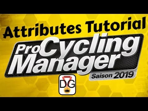 Pro Cycling Manager 2019 - Attributes Tutorial