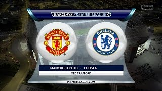 Manchester United vs  Chelsea FC | 26.10.2014 | Barclays Premier League | FIFA 15