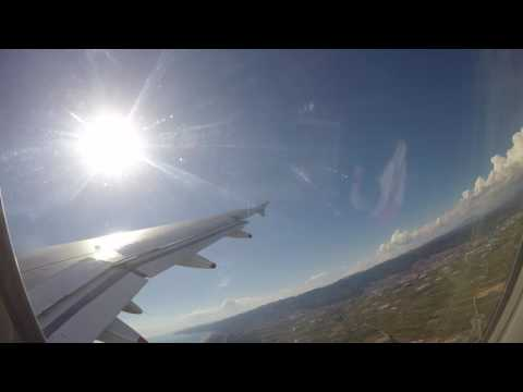✈ Brussels Airlines A319 Takeoff and Landing Barcelona LEBL - Brussels EBBR ✈