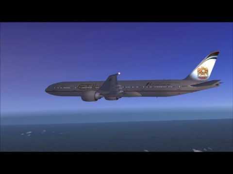 EY211 777-300ER ETIHAD DELHI - ABU DHABI