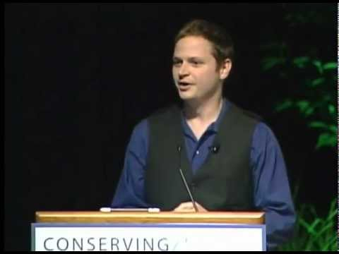 Michael Gale speaks at the Conserving the Future Conference