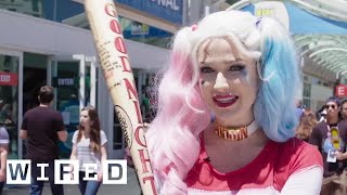 Harley Queen of Comic-Con | WIRED
