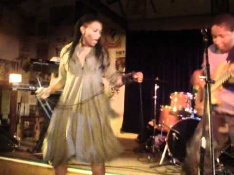 Nkulee Dube (daughter of South Africa's Lucky Dube) performing live at Ashkenaz  - July 23 2011 (5)