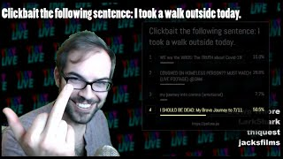 ARE YOU FUNNIER THAN A YOUTUBER?! (JacksFilms' twitch stream, March 25th 2020)