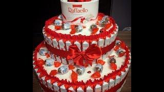 видео Сладкий подарок на день рождения: торты, конфетные букеты, шоколадные подарки