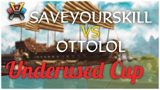 [AoE3] Save_Your_Skill vs ottolol — Round of 64 — Underused Cup // ESOC Grand Tour S2