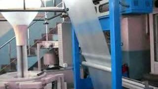 60 EXTRUDER PLASTIC FILM MACHINE HDPE LDPE PALSTİC BAG MACHINE HDPE LDPE