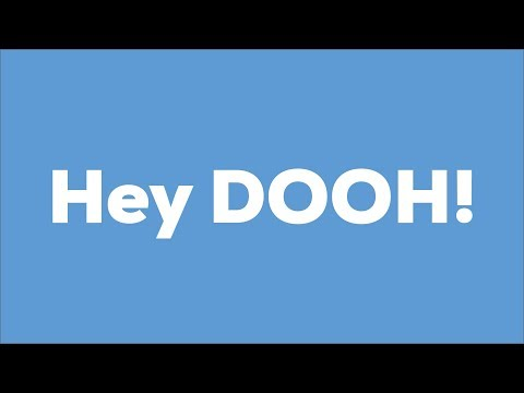 DOOH.eu - Digital out of Home advertising for participation and booking.