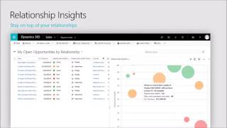 Relationship Insights in Dynamics 365