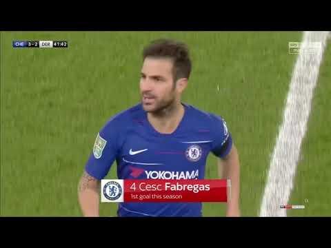 Cesc Fàbregas vs Derby County Home 18/19